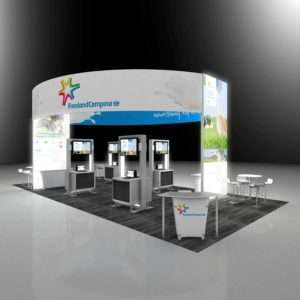 20x40 exhibition stand design