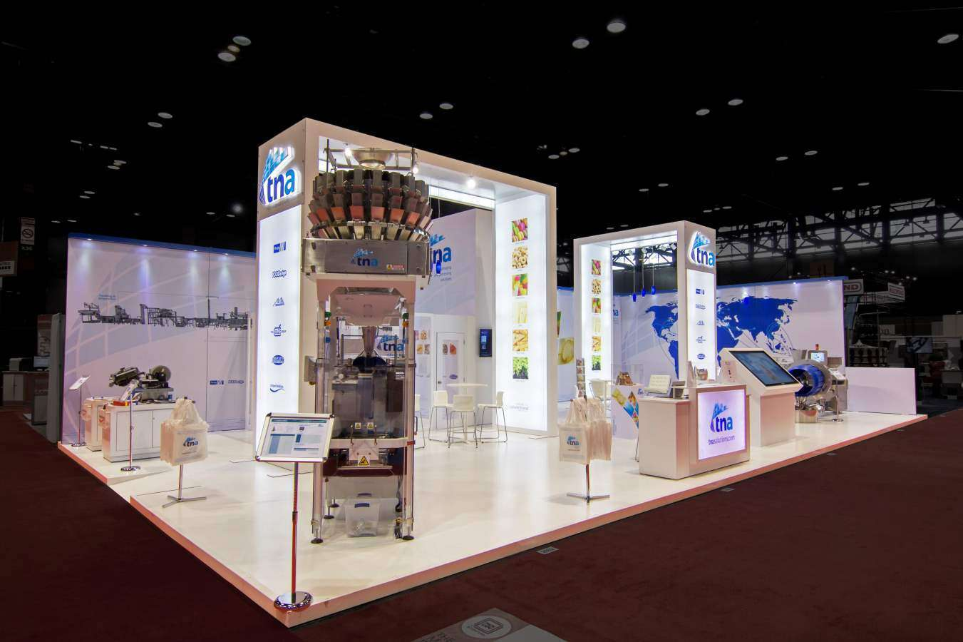 Our work creative trade show displays for Trade show floor plan design