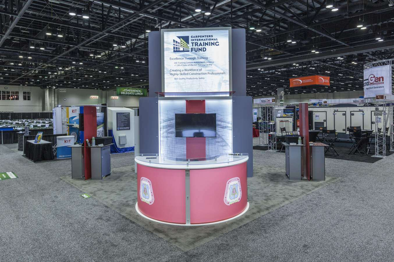 Exhibition Stand Hire York : Exhibition stands in chicago stand builder