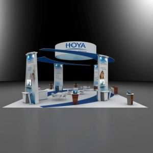 40x50 trade show rental booth
