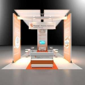 20x40 exhibition rental booth