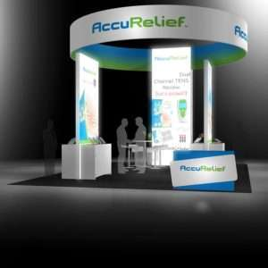20x30 trade show rental booth at CES Las vegas