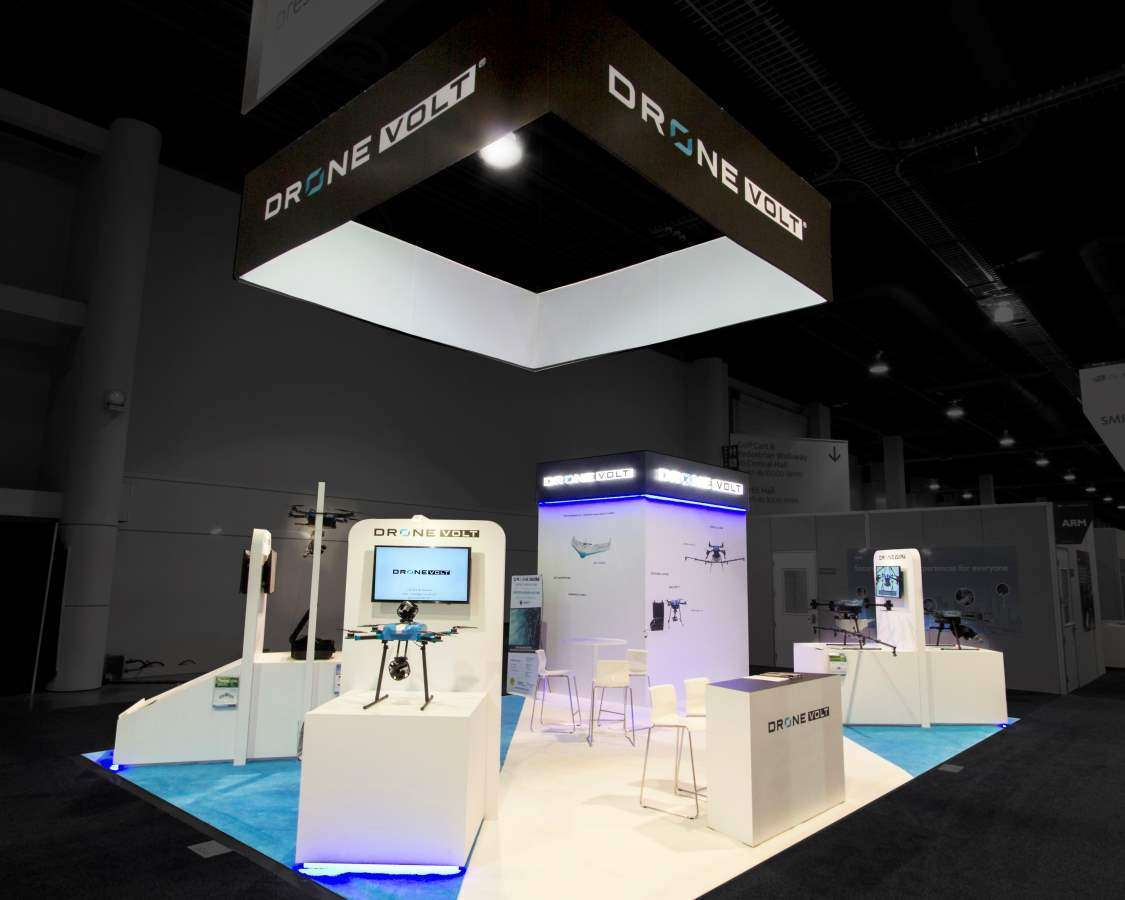 20X30 RENTAL BOOTH IN LAS VEGAS FOR CES TRADE SHOW
