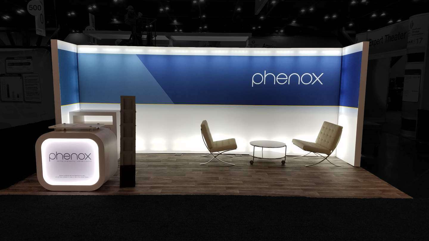 10x20 Rental booth at international stroke conference
