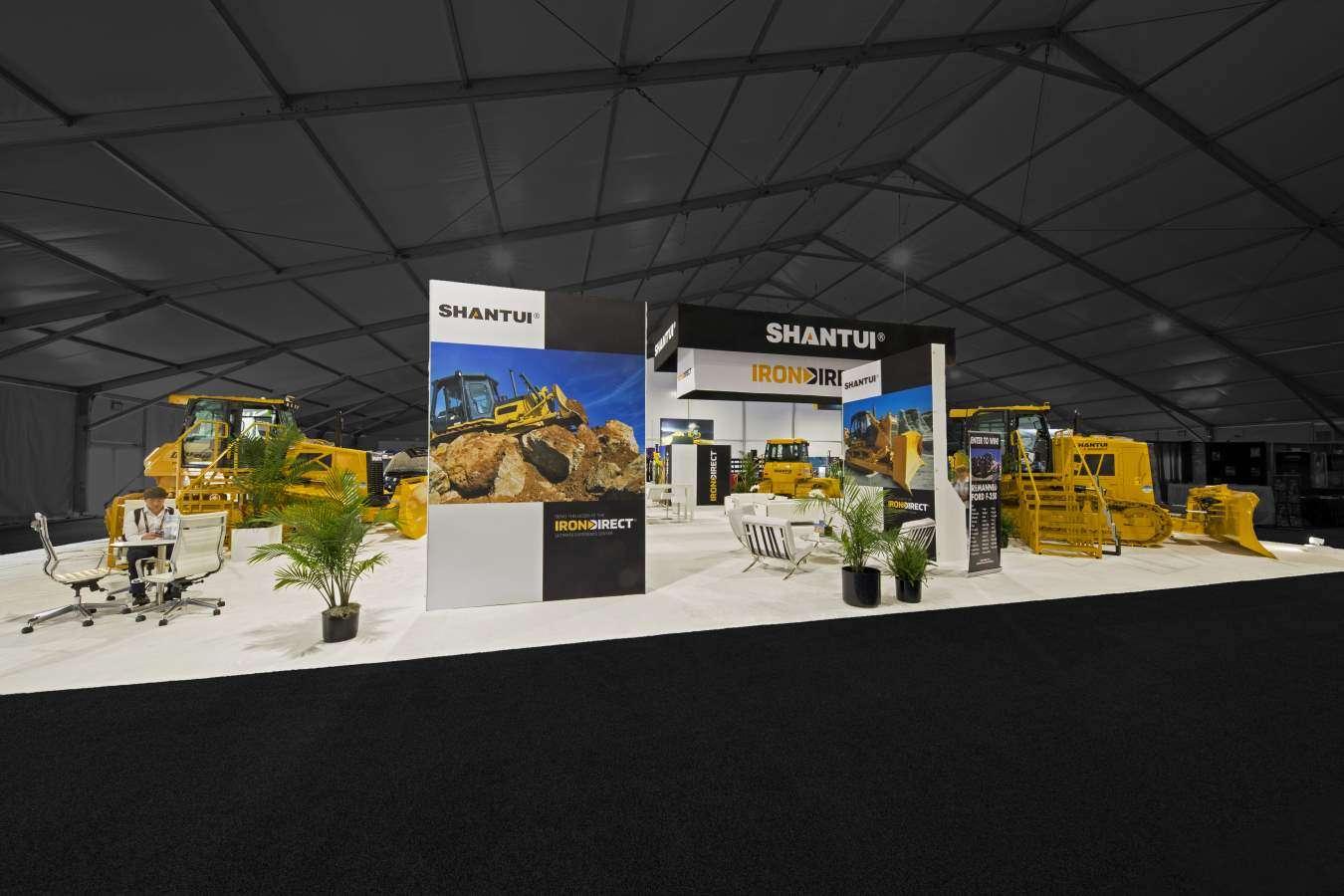 4800 Sqft booth construction at Con Expo, Las Vegas