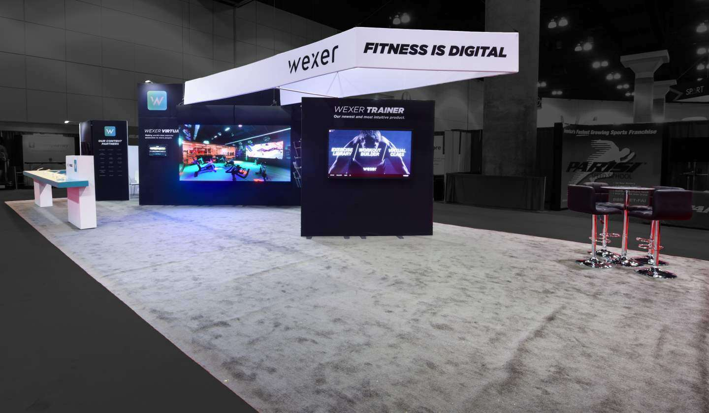 20x50 Rental booth @ ihrsa, San Francisco