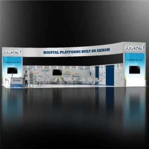 40x50 Trade Show Booth