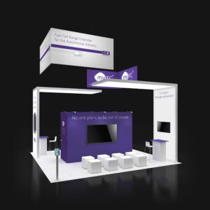Outdo your competitors with exceptional 20x20 booth rentals for San Diego shows