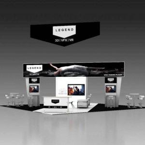 30X30 Trade Show Display Rentals