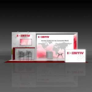 10x20 Trade Show Rental Booth