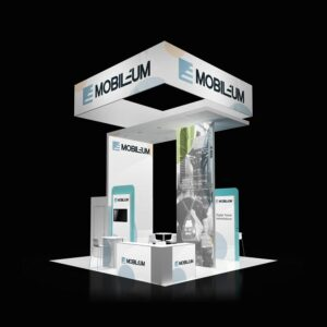 Get purpose-driven and impactful 20x20 tradeshow rental booths from Exponents