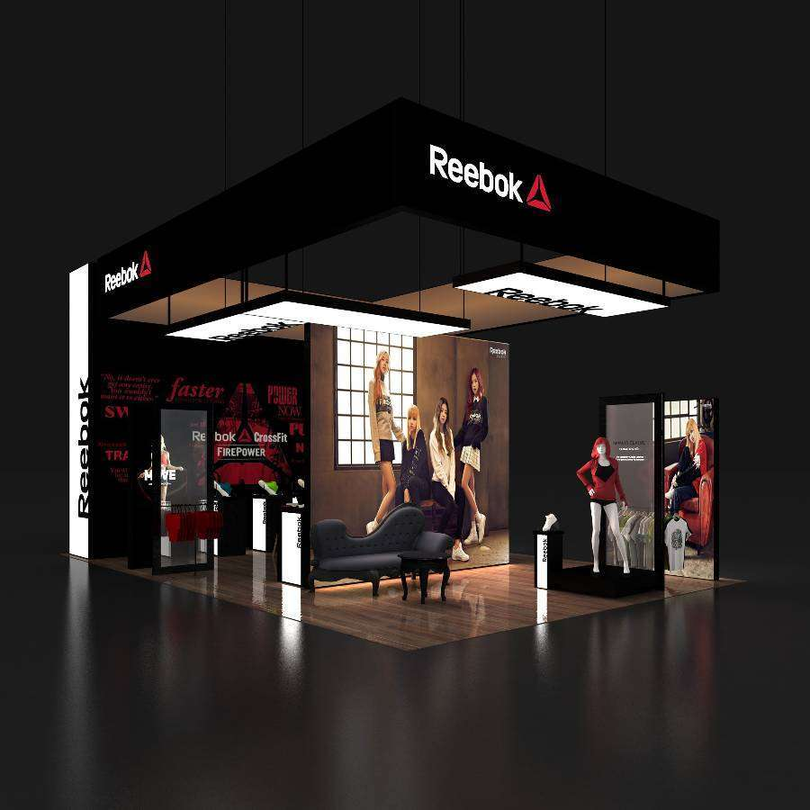 30x50 Trade Show Rental Booth