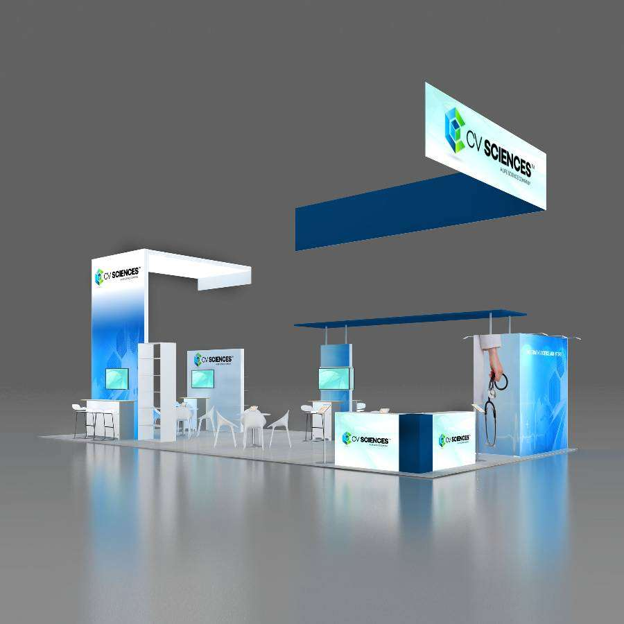 20x40 Trade Show Booth