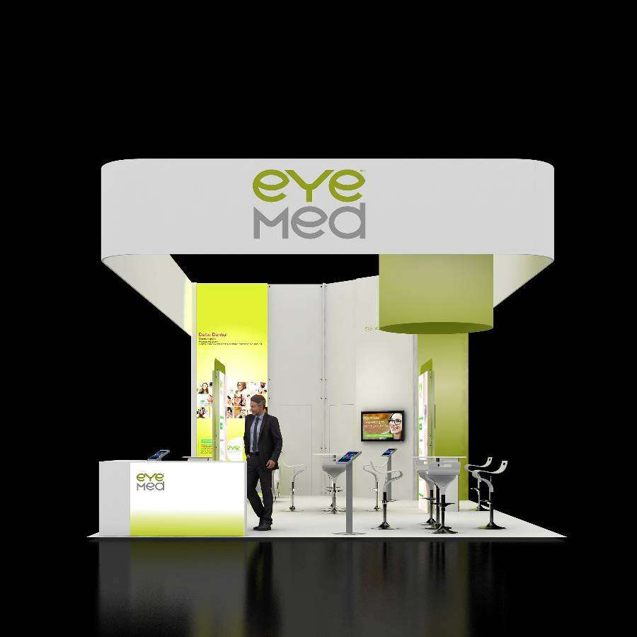 20x40 Trade Show Rental Booth