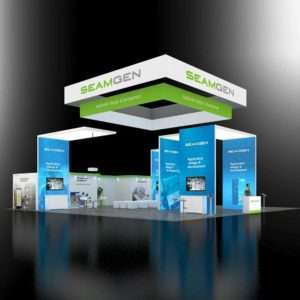 50x50 Trade Show Booth