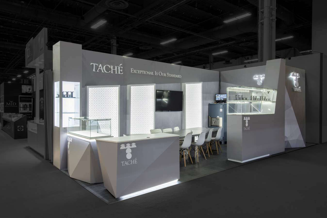 10x30 custom booth at JCK, Las Vegas