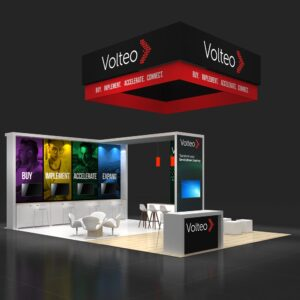 For eye-catching and well-built 20x30 booth rentals contact Exponents