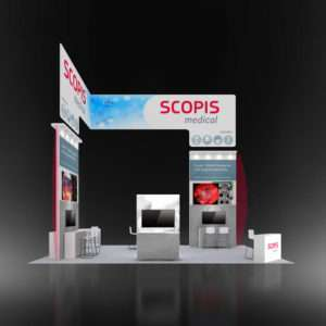 20x30 Rental Trade Show Display