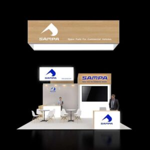 Outdo your competitors with exceptional 20x20 booth rentals for Las Vegas shows