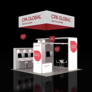 Capitalized on the market in Las Vegas with remarkable 20x20 booth rentals