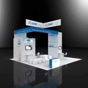 30x30 Trade Show Booth