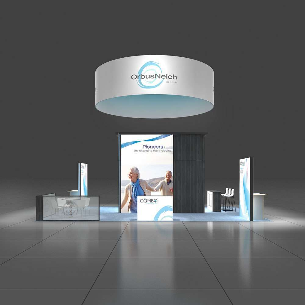 20x30 Trade Show Booth
