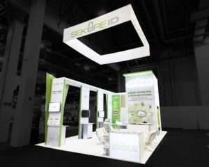 20x30 Rental Booth Design at ISC West, Las Vegas