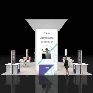 Amazing and robust 30x30 trade show booth rentals for San Diego shows