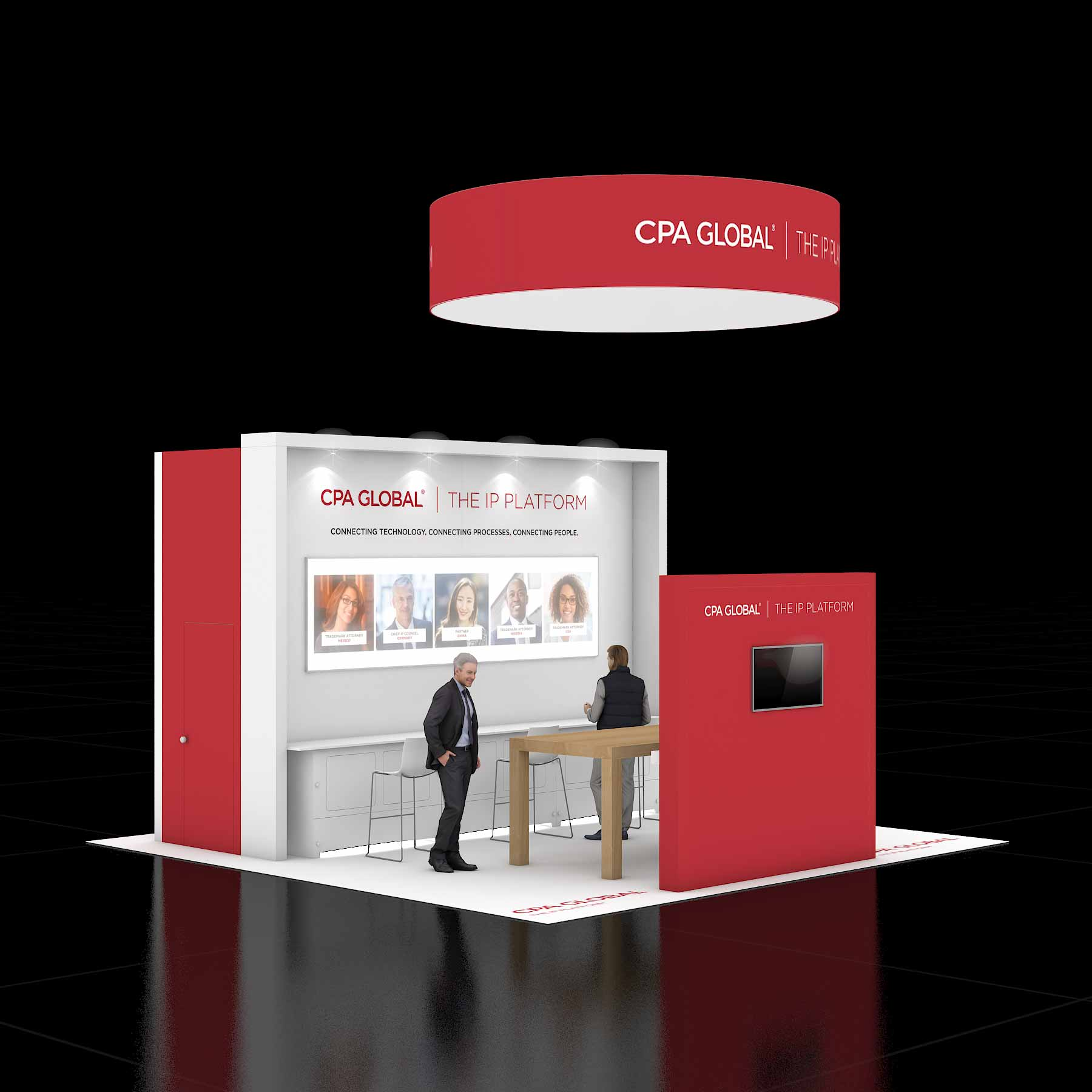 20X50 Trade Show Booth Rental