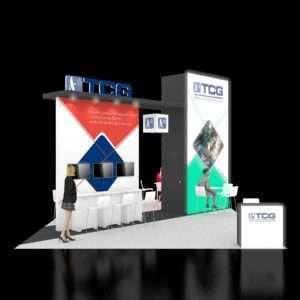 20X30 Trade Show Display Rentals
