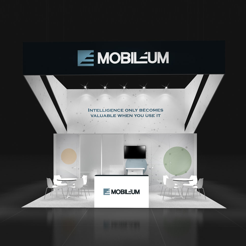 20x20 Trade Show Rental display