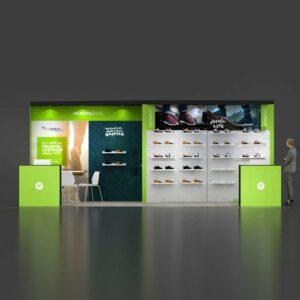 10x20 trade show display rental