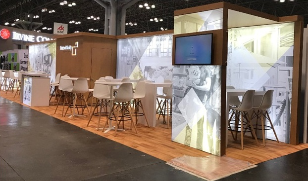 Attract attendees with extraordinary 10x50 rental booth at New York City