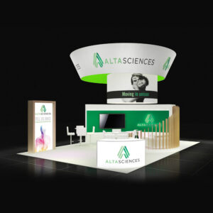 Top-quality and well-designed 20x30 booth rentals for San Diego