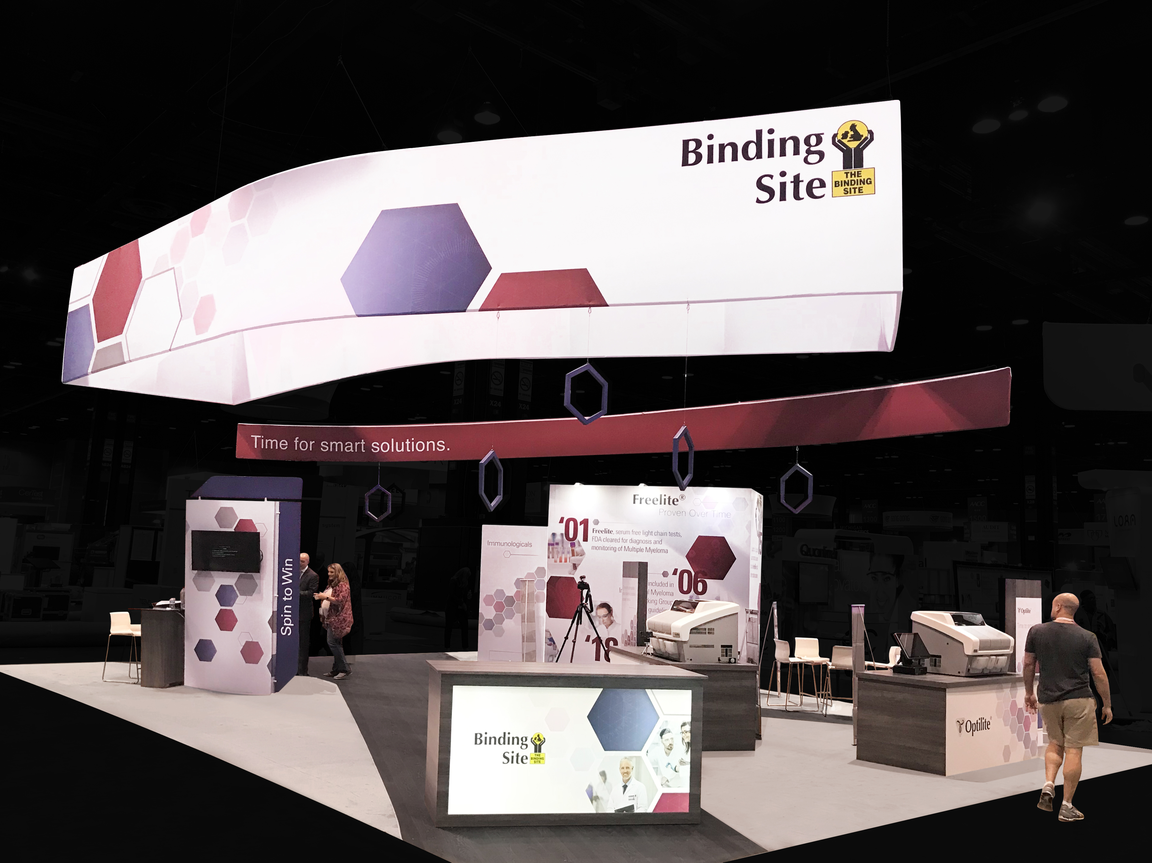 Corner Exhibition Stands Day : All inclusive custom trade show display rentals ! exponents