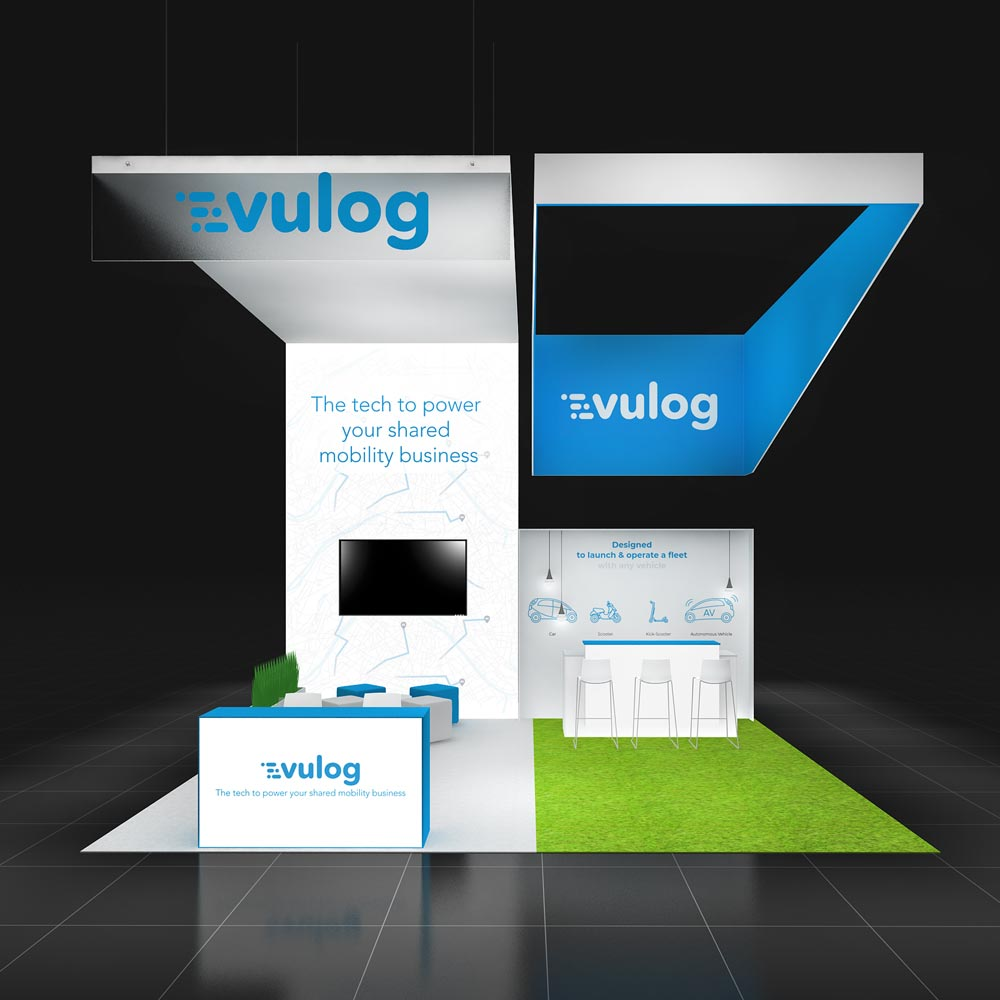 Get tailor-made 20x20 booth rentals at the most transparent price from Exponents